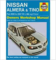 nissan almera and tino petrol service and repair manual. Black Bedroom Furniture Sets. Home Design Ideas