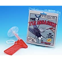 FLY ASSASSIN GUN AIM SHOOT SWAT KILL INSECTS BUG FLIES WASP MOSQUITO TOY by Boxer