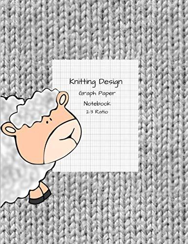 Knitting Design: Graph Paper Notebook, Blank Knitting Patterns Lamb Book, 2:3 Ratio ()