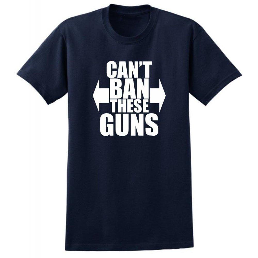 Loo Show Can T Ban These Guns Short Sleeve Crew T Shirt Summer Tee