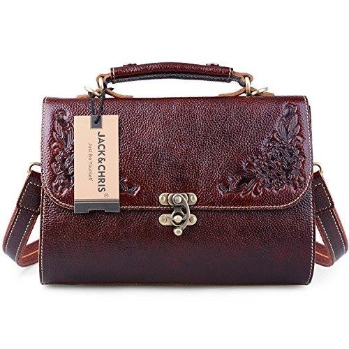 Floral Vintage Shoulder Bag - 7