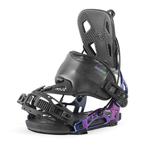 Nidecker NX2 Spectra Hybrid Snowboard Bindings (BLACK, LARGE) (Terrain Snowboard All Binding)