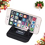 Remax Car Phone Holder Car Phone Mount Silicone Phone Car Dashboard Car Pad Mat Various Dashboards Anti-Slip Desk Phone Stand Compatible with iPhone Samsung Galaxy Note HTC LG BlackBerry (Black)