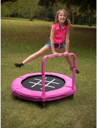 JumpKing Trampoline 4 Bouncer for Kids