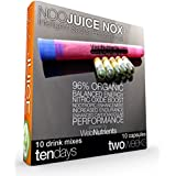 NooJuice NOX+ - Organic Beet Juice Concentrate with NZT-48. 10 Drinks+10 Capsules - Powerful Nootropic Brain-Boosting Nutrients