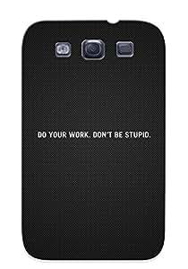 New SQXXfqw693fTpkv Starscream Skin Case Cover Shatterproof Case For Galaxy S3