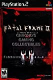CGC Huge Poster - Fatal Frame II Crimson Butterfly - BOX ART Sony Plastation 2 PS2 - PS2097 (24