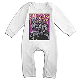 Darkfacai Baby Bodysuit Blink 182 Infant Romper Climbing Clothes Lovely Jumpsuit Outfits Black
