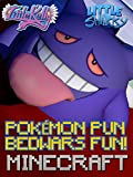 Clip: Little Kelly & Little Sharky - Pokémon Pun Bedwars Minecraft Fun! Image
