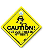 Voorzichtigheid Ik ben net geslaagd Mijn test Auto teken, Voorzichtigheid Ik ben net geslaagd Mijn Test, Bumper Sticker, Baby aan boord teken, Rijden Test , Baby aan boord, Grappig Auto teken, Rijden Teken