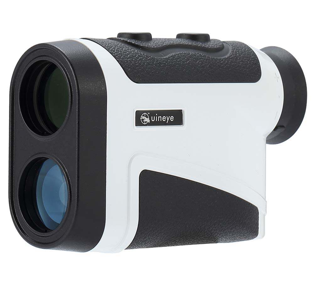 Uineye Golf Rangefinder - Range : 5-1950 Yards, 0.33 Yard Accuracy, Laser Rangefinder with Height, Angle, Horizontal Distance Measurement Perfect for Hunting, Golf, Engineering Survey (White) by Uineye