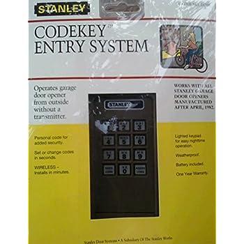 Stanley 24704 2986 370 3120 310 Mhz Codekey Entry System