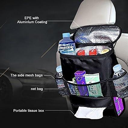Amazon.com: fhobd2 Asiento de coche de vuelta organizador ...