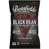 Beanfields Bean Chips, High Protein and Fiber, Gluten Free, Vegan Snack, Black Bean (Black Bean, 5.5 Ounce (Pack of 12))