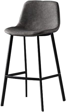 Tabourets De Bar Avec Dossier Chaise Haute De Comptoir De