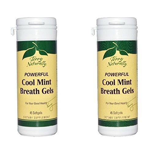 Terry Naturally/Europharma -Cool Mint Breath Gels |45 Softgels -2 Pack