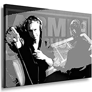 Dj Armin Van Buuren 2013. Size 100x70x2cm(l/h/w). Canvas On Wooden Frame. Made In Germany.