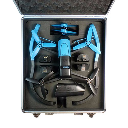 Generic Parrot Bebop Drone 3.0  Aluminum Box Without Remote Control Version Rc Quancopter Case Vs Dji Phantom Box
