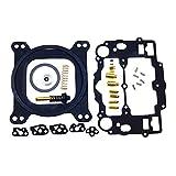 iFJF Carburetor Rebuild Kit for Edelbrock 1400 1404 1405 1406 1407 1409 1411 1477 fit Automotive 500 600 650 700 750 & 800 CFM Weber Marine Carburetor Mercruiser kit # 809064 Carter 9000 Series 4 BBL