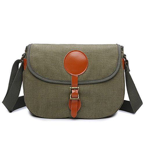Canvas Men Cross Square Chengxiaoxuan Section Gray With Bag Shoulder Messenger Leather Casual 4CdwqAdtx