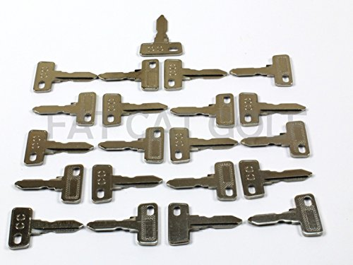 Club CAR Key for All Stock Club CAR Golf CARTS (Set of 25)