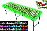 PartyPongTables PPT-082220213 Football Field with Cup Holes & LED Lights