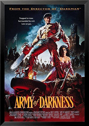 buyartforless FRAMED Army of Darkness - Low on Gas 1993 36x2