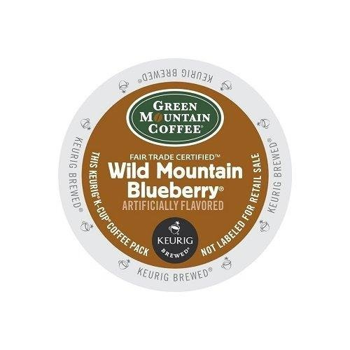 (Green Mountain Fair Trade Wild Mountain Blueberry for Keurig Brewers 24 K-Cups (4 Pack) - Packaging May Vary)