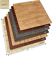 Interlocking floor mats turn any cold, hard floor into a comfortable, stylish surface.  No more rugs to clean or cold hard floors! Enhance the comfort and appearance of your floor with the Sorbus Interlocking Floor Mat. It features faux marb...