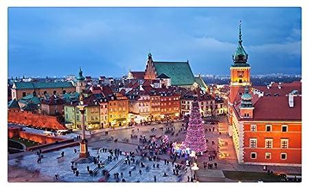 Polonia casas Navidad árbol de Navidad Varsovia ciudades muebles ...
