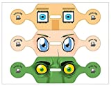 PS4 VR Headset Virtual Eyes Sticker Kit: Animé Edition (PS4)
