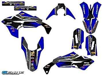 1990-2018 PW 50 Senge Graphics Compatible with Yamaha Jester Blue Base kit