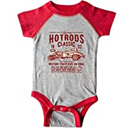 inktastic - Hot Rods Race Classic Infant Creeper 6 Months Heather and Red 2e197