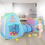 Ze tian baby ball pit balls child play tent tunnel indoor outdoor playhouse
