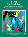 First Book of Pop, Alfred Publishing Staff, 0739090682