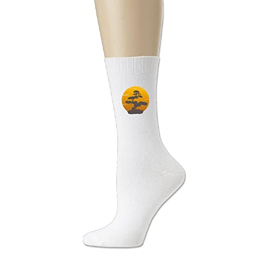 d1ed1c4e40 Amazon.com: Japanese Bonsai Tree Football Stocking Unisex Cotton Sock Crew  Socks Casual Socks For Men Women: Clothing