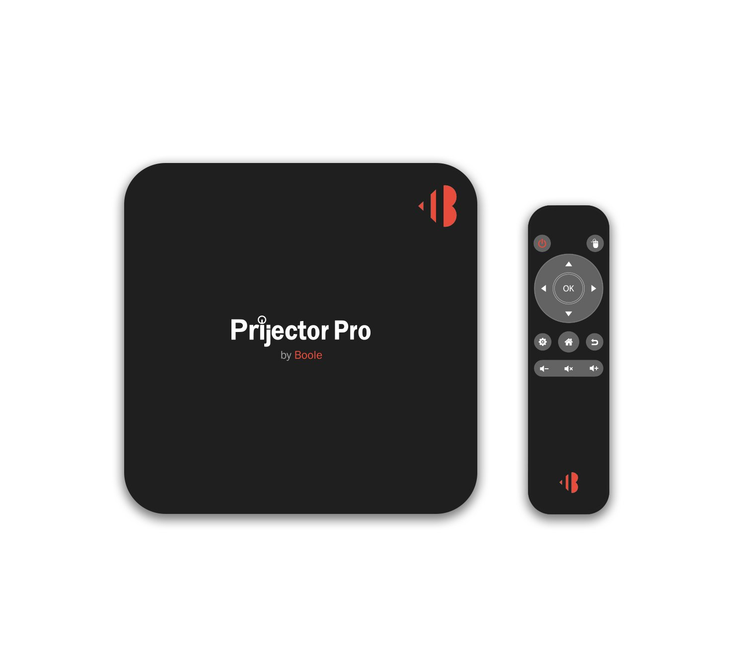 Prijector Pro- Wireless HDMI Full Screen Mirroring From any Device (In 3 Seconds) / Runs Video Conferencing Apps / Guest Internet Access.