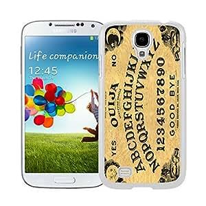 Ouija Board Samsung Galaxy S4 i9500 Case White Cover