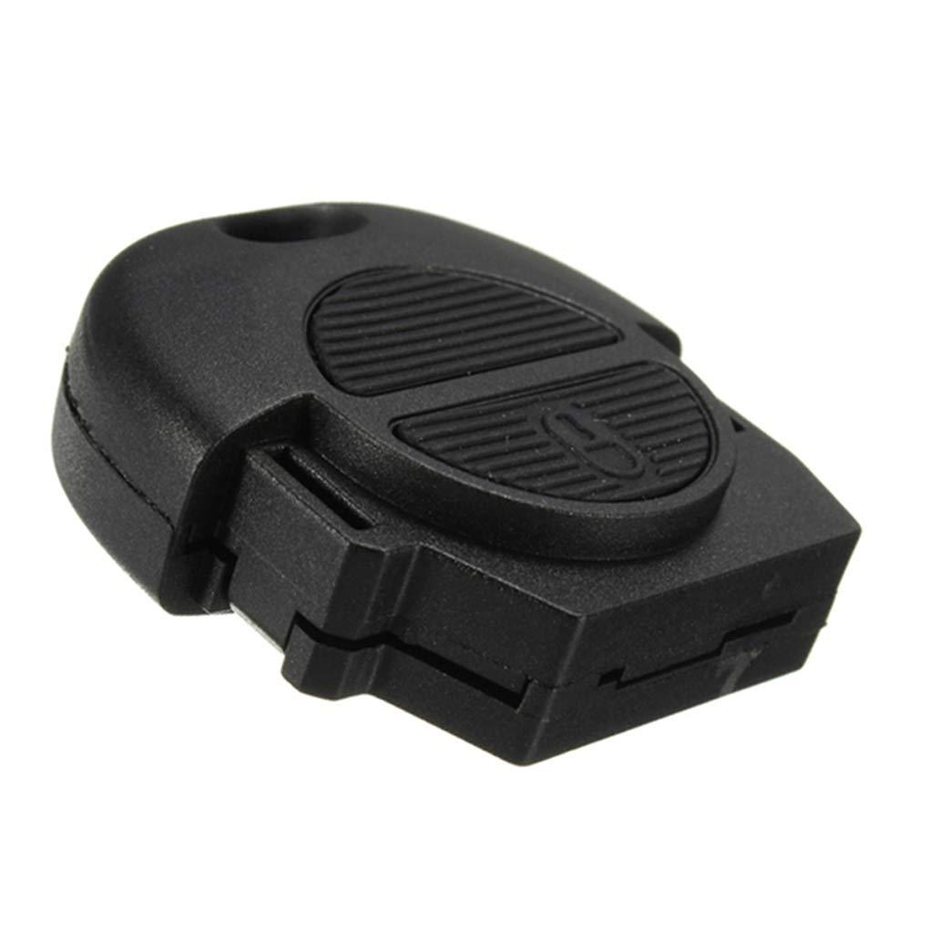 Republe 2 tir/ón del bot/ón Remoto reemplazo de Coches Fob Shell Key para la Cubierta del Caso de la Llave del Coche Nissan Micra Almera Primera X-Trail