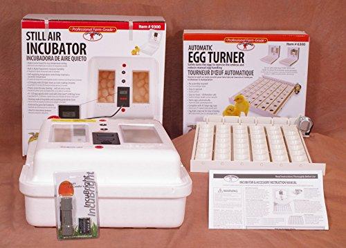 Little Giant 9300 Deluxe Egg Incubator Combo Kit