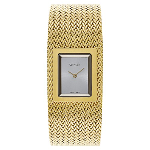 Calvin Klein Mesh Women's Quartz Watch K5L13536