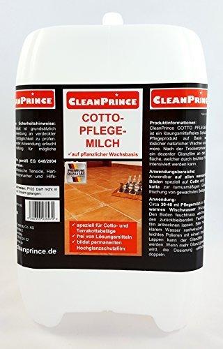CleanPrince Liter Cotto Pflegemilch Terrakotta Terracotta - Naturstein fliesen reiniger