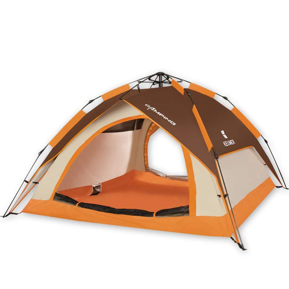 marca famosa Tienda Tienda Tienda De Campaña Al Aire Libre 3-4 Personas Completamente Automática Casa De Camping Impermeable Camping  más descuento