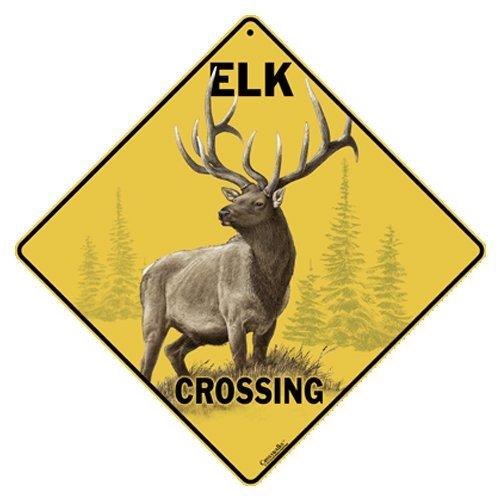 Elk Sign (Elk Crossing 12