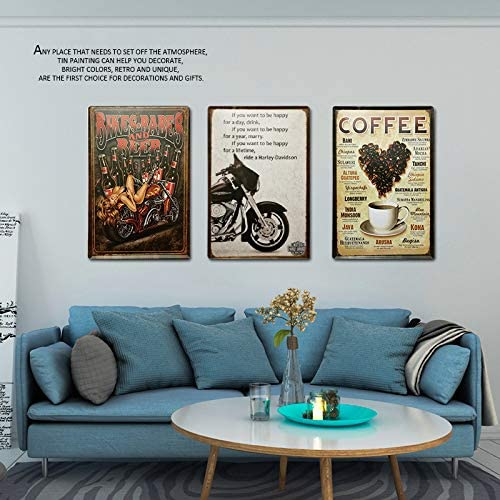 Kilburn Garrison Lane Road Retro creative wall decoration personality trend background simple style iron painting