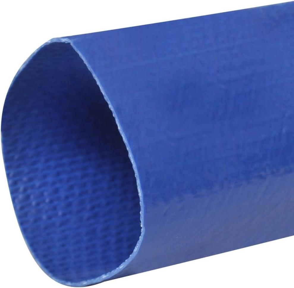 vidaXL Tuyau Plat 1 Pouce PVC Tuyau dIncendie Distribution de lEau Jardin