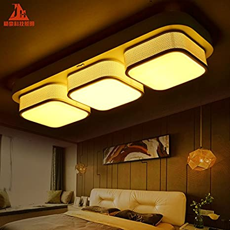 The Living Room Lighting Rectangular Led Dimming Color Palette