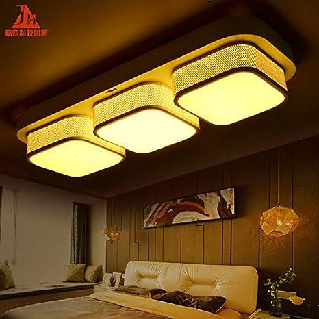The Living Room Lighting Rectangular Led Dimming Color Palette
