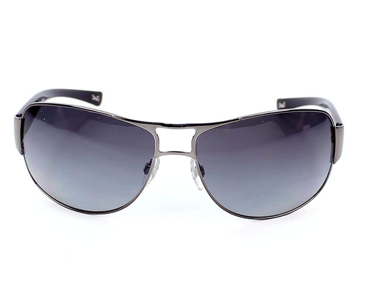 1fb221f0c18 D G DOLCE GABBANA SUNGLASSES DG 6056 079 T3 NEU Black - Polarized   Amazon.co.uk  Clothing