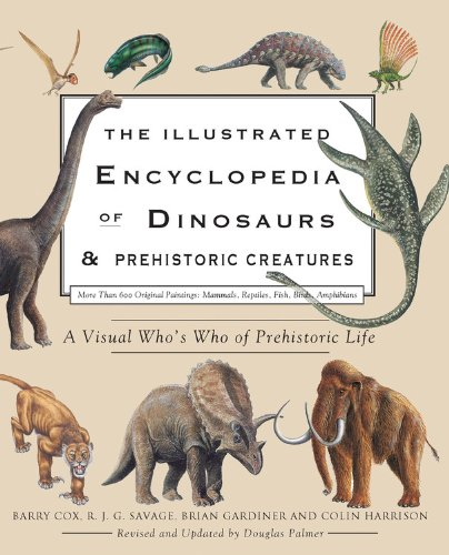 The Illustrated Encyclopedia of Dinosaurs & Prehistoric Creatures by Brand: Chartwell Books (Image #2)